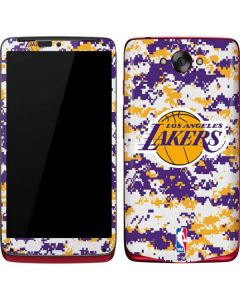 Los Angeles Lakers Digi Camo Motorola Droid Skin