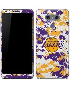 Los Angeles Lakers Digi Camo LG G6 Skin