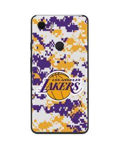 Los Angeles Lakers Digi Camo Google Pixel 3 XL Skin