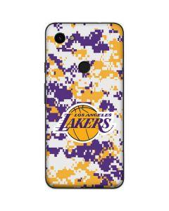 Los Angeles Lakers Digi Camo Google Pixel 3a Skin