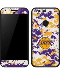 Los Angeles Lakers Digi Camo Google Pixel Skin