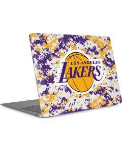 Los Angeles Lakers Digi Camo Apple MacBook Air Skin