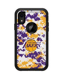 Los Angeles Lakers Digi Camo Otterbox Defender iPhone Skin