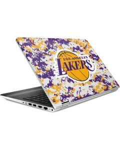 Los Angeles Lakers Digi Camo HP Pavilion Skin