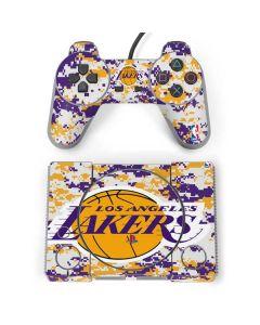 Los Angeles Lakers Digi Camo PlayStation Classic Bundle Skin