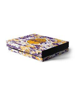 Los Angeles Lakers Digi Camo Xbox One X Console Skin