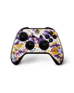 Los Angeles Lakers Digi Camo Xbox One X Controller Skin