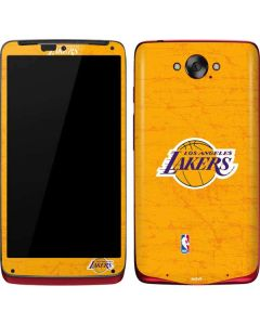 Los Angeles Lakers Gold Primary Logo Motorola Droid Skin