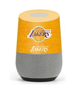 Los Angeles Lakers Gold Primary Logo Google Home Skin