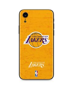 Los Angeles Lakers Gold Primary Logo iPhone XR Skin