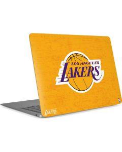 Los Angeles Lakers Gold Primary Logo Apple MacBook Air Skin