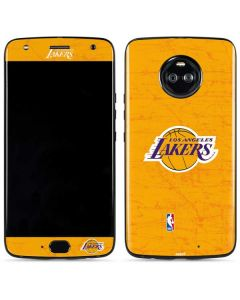 Los Angeles Lakers Gold Primary Logo Moto X4 Skin