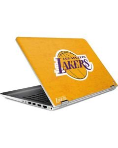 Los Angeles Lakers Gold Primary Logo HP Pavilion Skin