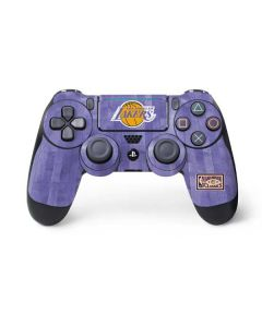 Los Angeles Lakers Hardwood Classics PS4 Pro/Slim Controller Skin