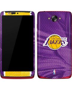 Los Angeles Lakers Home Jersey Motorola Droid Skin