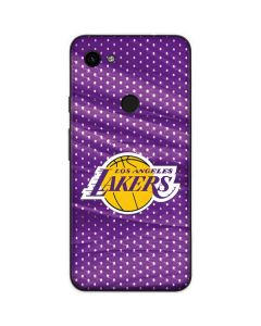 Los Angeles Lakers Home Jersey Google Pixel 3a Skin