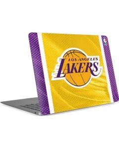 Los Angeles Lakers Home Jersey Apple MacBook Air Skin