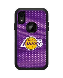 Los Angeles Lakers Home Jersey Otterbox Defender iPhone Skin
