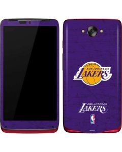 Los Angeles Lakers Purple Primary Logo Motorola Droid Skin