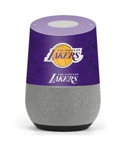 Los Angeles Lakers Purple Primary Logo Google Home Skin