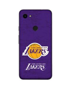 Los Angeles Lakers Purple Primary Logo Google Pixel 3a Skin