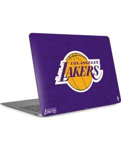 Los Angeles Lakers Purple Primary Logo Apple MacBook Air Skin