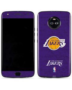 Los Angeles Lakers Purple Primary Logo Moto X4 Skin
