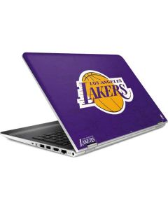 Los Angeles Lakers Purple Primary Logo HP Pavilion Skin