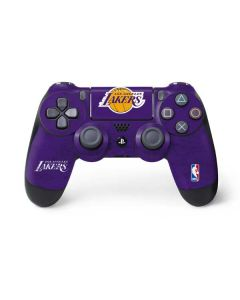 Los Angeles Lakers Purple Primary Logo PS4 Controller Skin