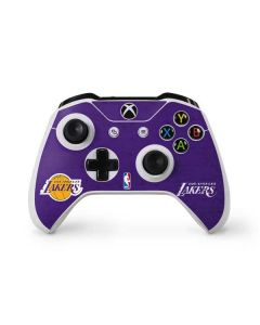 Los Angeles Lakers Purple Primary Logo Xbox One S Controller Skin