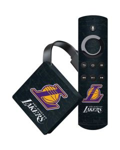 Los Angeles Lakers Secondary Logo Amazon Fire TV Skin