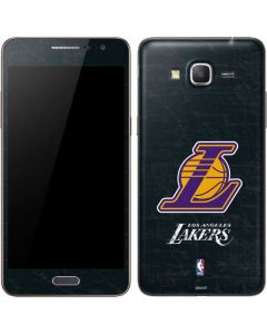 Los Angeles Lakers Secondary Logo Galaxy Grand Prime Skin