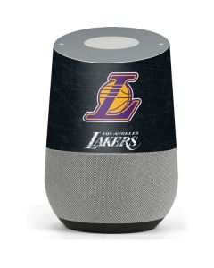 Los Angeles Lakers Secondary Logo Google Home Skin