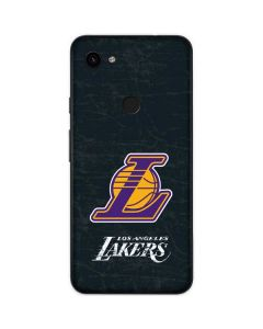 Los Angeles Lakers Secondary Logo Google Pixel 3a Skin