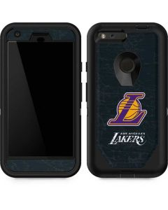 Los Angeles Lakers Secondary Logo Otterbox Defender Pixel Skin