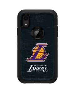 Los Angeles Lakers Secondary Logo Otterbox Defender iPhone Skin