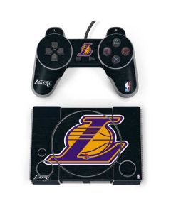 Los Angeles Lakers Secondary Logo PlayStation Classic Bundle Skin