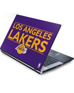 Los Angeles Lakers Standard - Purple Generic Laptop Skin
