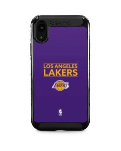 Los Angeles Lakers Standard - Purple iPhone XR Cargo Case