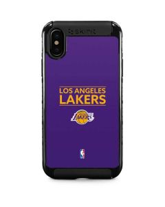 Los Angeles Lakers Standard - Purple iPhone XS Max Cargo Case