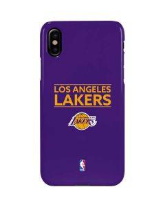 Los Angeles Lakers Standard - Purple iPhone XS Max Lite Case