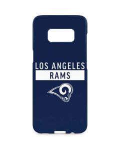 Los Angeles Rams Blue Performance Series Galaxy S8 Plus Lite Case