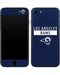 Los Angeles Rams Blue Performance Series iPhone 7 Skin