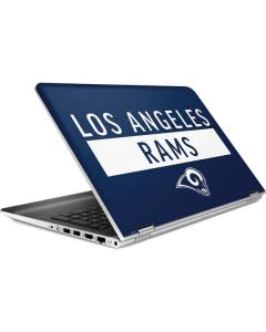 Los Angeles Rams Blue Performance Series HP Pavilion Skin