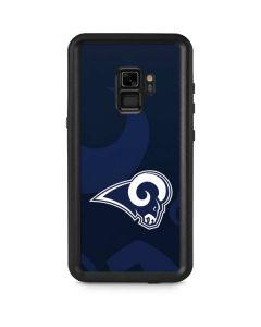 Los Angeles Rams Double Vision Galaxy S9 Waterproof Case