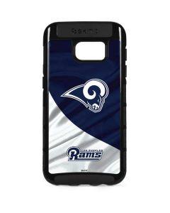 Los Angeles Rams Flag Galaxy S7 Edge Cargo Case