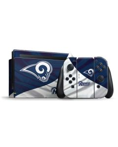 Los Angeles Rams Flag Nintendo Switch Bundle Skin