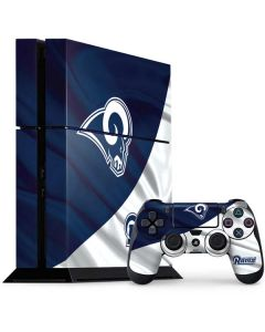 Los Angeles Rams Flag PS4 Console and Controller Bundle Skin