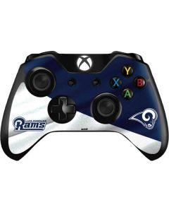 Los Angeles Rams Flag Xbox One Controller Skin