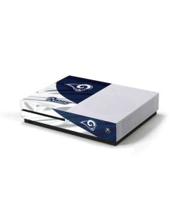 Los Angeles Rams Flag Xbox One S Console Skin